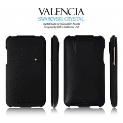 SGP Leather Pouch Valencia Series for Apple iPod Touch 2G/3G [Black]